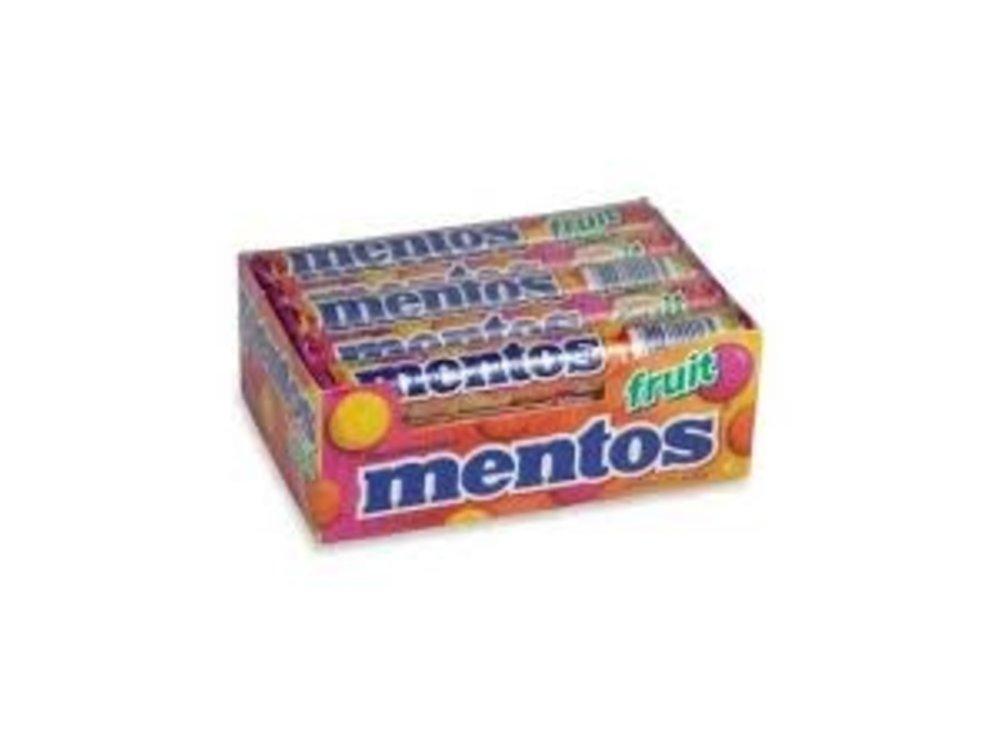 Van Melle Mentos Mixed Fruit 15Ct Box