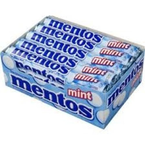 Van Melle Mentos Peppermint 15 Ct Box