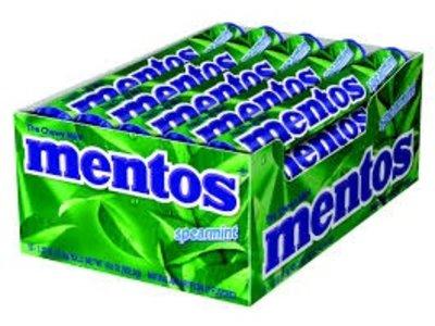 Van Melle Mentos Spearment 15 Ct Box