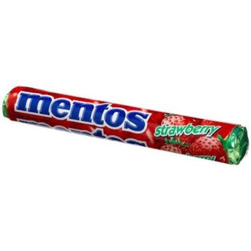 Van Melle Mentos Strawberry Roll