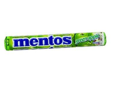Van Melle Mentos Green Apple Roll 1.3 oz