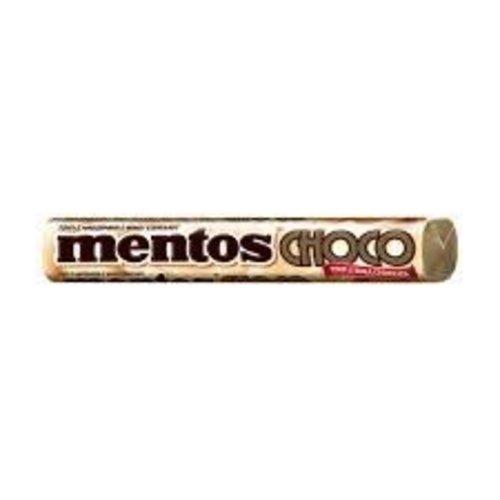 Van Melle Mentos Choco Caramel & White Center 1.3 oz dated 12/18