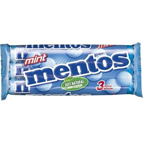 Van Melle Mentos Peppermint 3 Pack