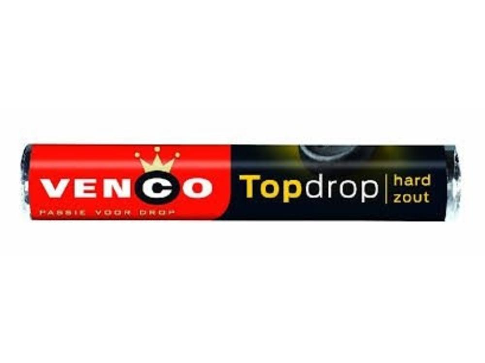 Venco Venco TopDrop Licorice Rolls Hard Salty 1.65 oz Roll