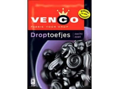 Venco Venco Droptoefjes Soft & Sweet 9.3 oz Bag - 256g