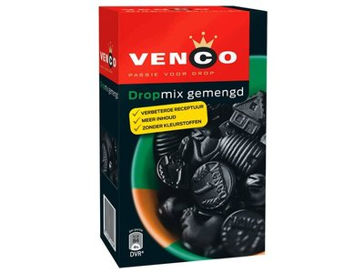 Venco Venco Box Mixed Licorice  Green 17.6 oz  500g