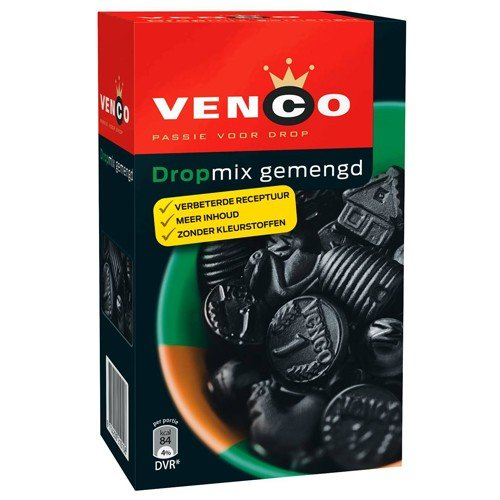 Venco Venco Mixed Licorice Gemenged Green 17.6 oz Box - 500g