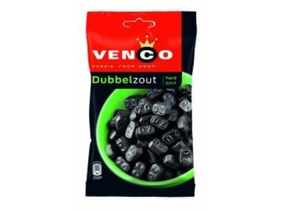 Venco Venco Licorice Double Salt 162g bag