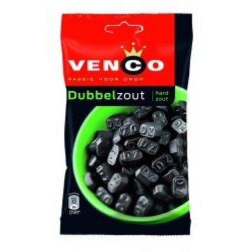 Venco Venco Licorice Double Salt 5.7 oz Bag - 161g