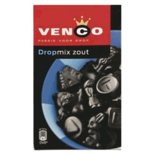 Venco Venco Box Salty Licorice Mix Blue 17.6 Oz  500g