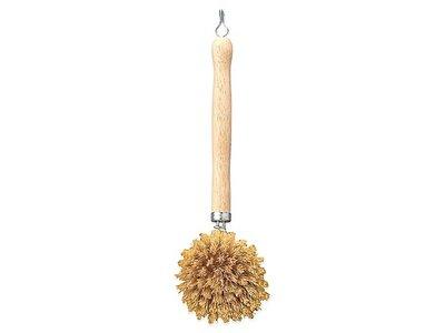 Vero Fiber Dish Brush Wooden Handle