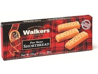 Walkers Walkers Shortbread Fingers 5.3 oz Box 12/cs