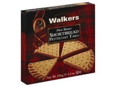 Walkers Walkers Petticoat Tails Shortbread 5.3oz Box 6/cs
