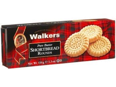 Walkers Walkers Shortbread Rounds 5.3oz Box 12/cs