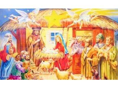 Wawi Wawi Religious Scene Advent Calendar