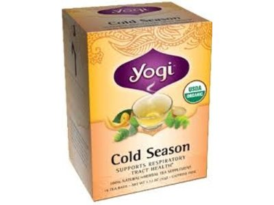 Yogi Yogi Teas Organic Cold Season