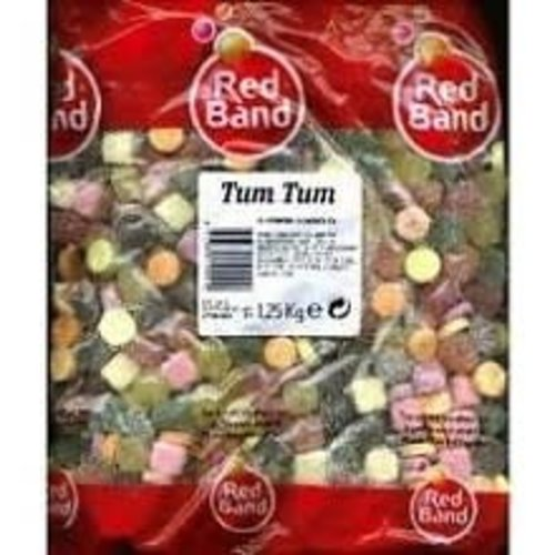Red Band Red Band Tum Tum Soft Candy 2.2lb Bag - Kilo