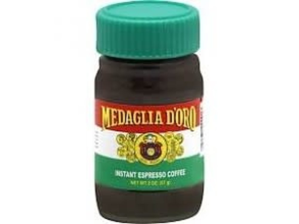 Medaglio Medaglio Medaglio D'Oro Inst Coffee 2 oz Jar