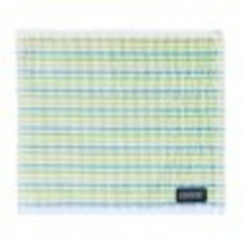 DDDDD DDDDD Dish Cloth Multi Stripe Teal Yellow Lime White