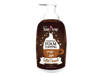 Skinny Mixes Jordan's Skinny Syrup Salted Caramel Whipped Foam Topping