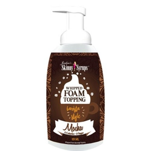 Skinny Mixes Jordan's Skinny Syrups Mocha Flavored Whipped Foam Topping