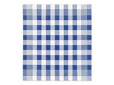 DDDDD DDDDD Block - Blue Tea Towel 24x25 inch