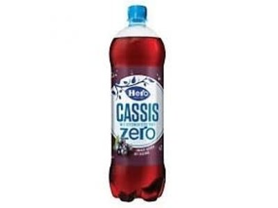 Hero Hero Original Cassis ZERO 1.25 liter plastic bottle dated