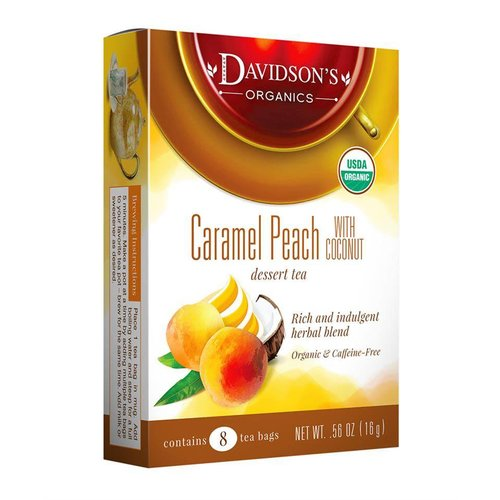 Davidsons Davidsons Caramel Peach tea