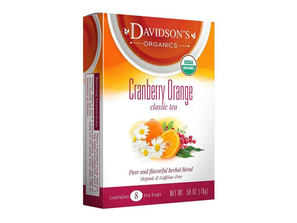 Davidsons Davidsons Cranberry Orange tea
