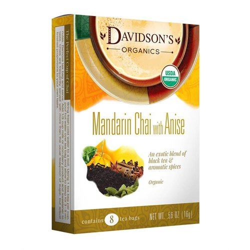 Davidsons Davidsons Mandarin Chai with Anise 8ct