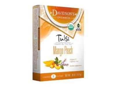 Davidsons Davidsons Tulsi Mango Peach 8 ct box