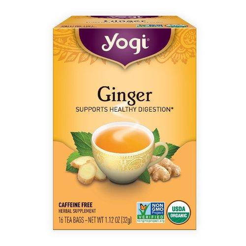 Yogi Yogi Organic Ginger tea 16 ct