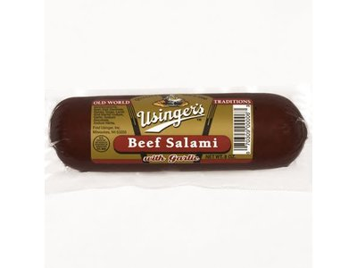 Usinger Usinger Beef Salami Garlic 12 oz