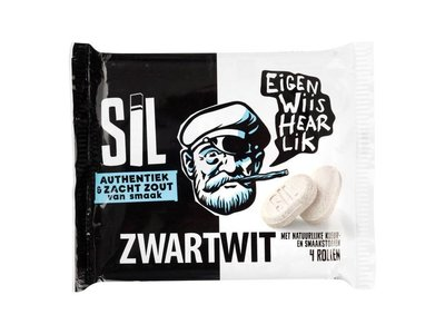 Fortuin Fortuin B&W Licorice Roll 4 pack