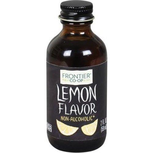 Frontier Frontier Lemon Flavor 2 Oz