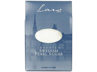 Lars Own Lars Swedish Pearl Sugar 10 oz box