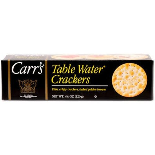Carrs Carrs Table Water Crackers 4.25oz Box 12/cs