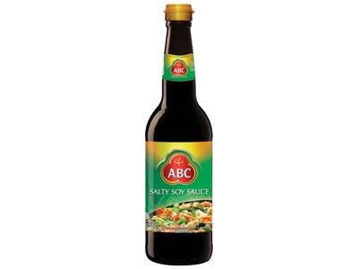 ABC Brand Salty Soy Sauce 21 Oz