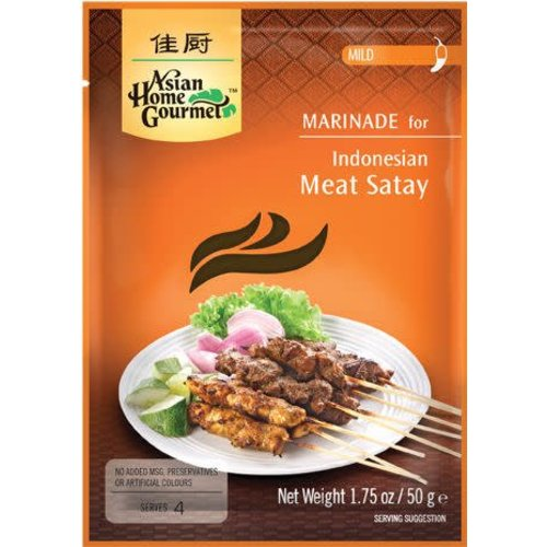 Asian Home Gourmet Asian Home Gourmet Indonesian Satay Spice 1.75 Oz DATED Aug 2020