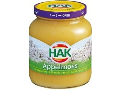 Hak Hak Applesauce 25.3 Oz Jar