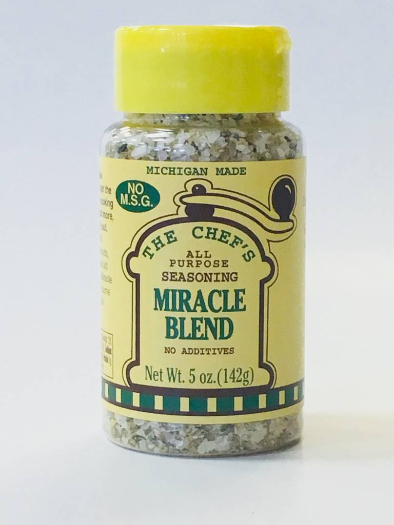The Chef's All Purpose Seasoning Miracle Blend