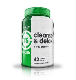 Top Secret Top Secret Cleanse & Detox 42 Capsules