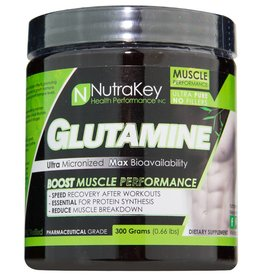 NutraKey Nutrakey Glutamine 300 Grams