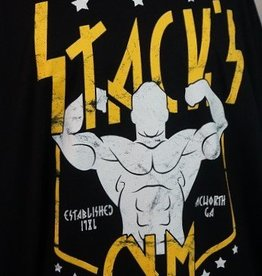 Stack's Gym Stack's Gym Flexing Logo Tee