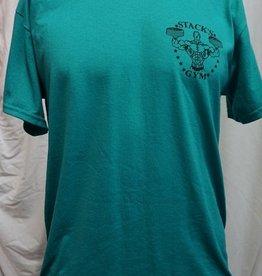 Stack's Gym Original & Dumbbell logo T-Shirt