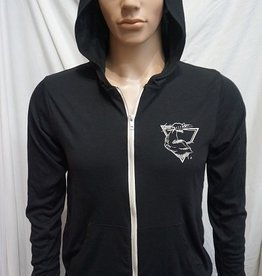 Stack's Gym NEW! Unisex Muscle Logo Zip Up