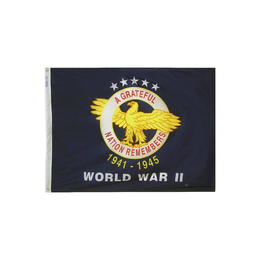 World War II Commemorative Flag - All-Weather Nylon