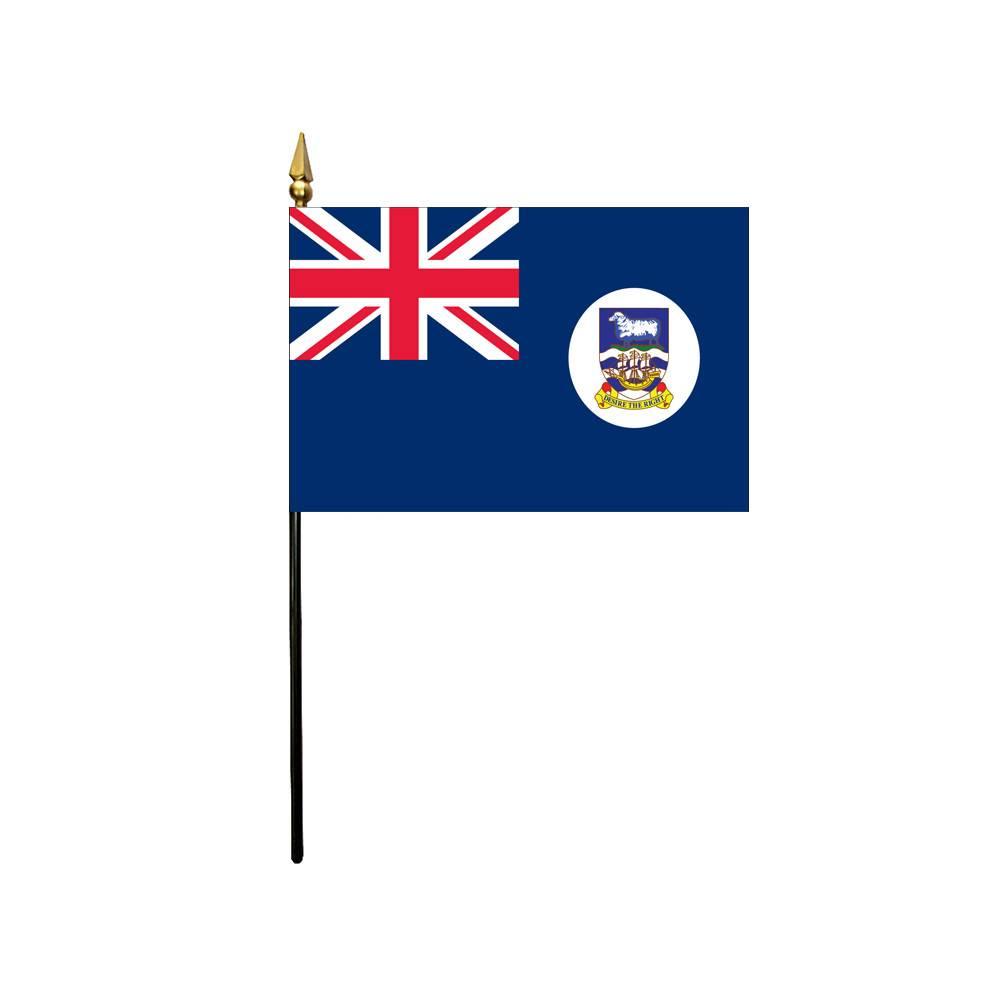 Falkland Islands Stick Flag 4x6 in