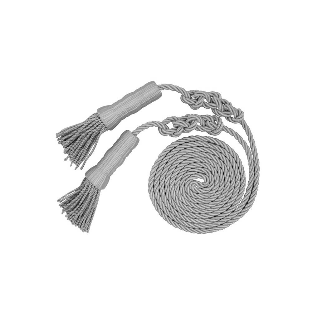Cord & Tassel - Silver