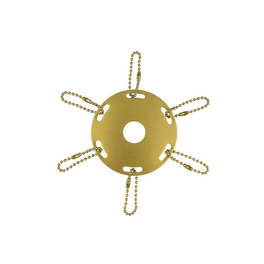 Metal Award Ribbon Pole Ring - Gold